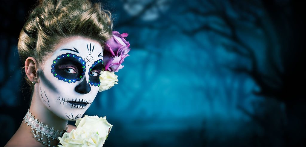 Sugar Skull Tutorial Halloween 2017