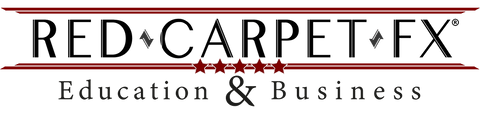 Red Carpet FX Education & Business Scheme Logo