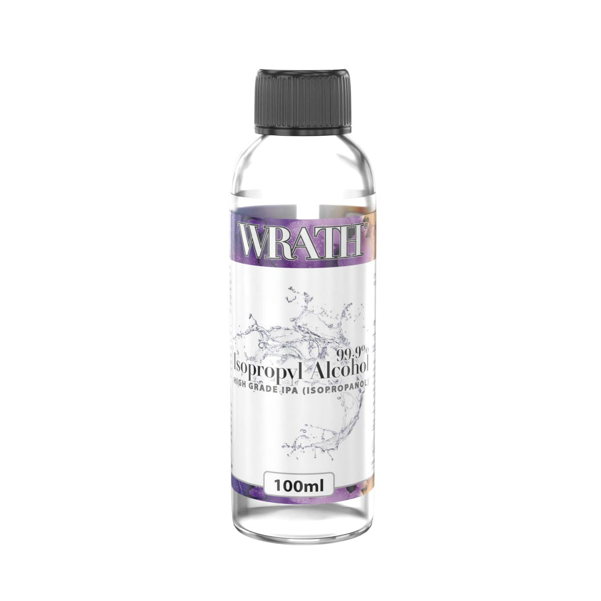 WRATH Cosmetics 99.9% Isopropyl Alcohol - 100ml
