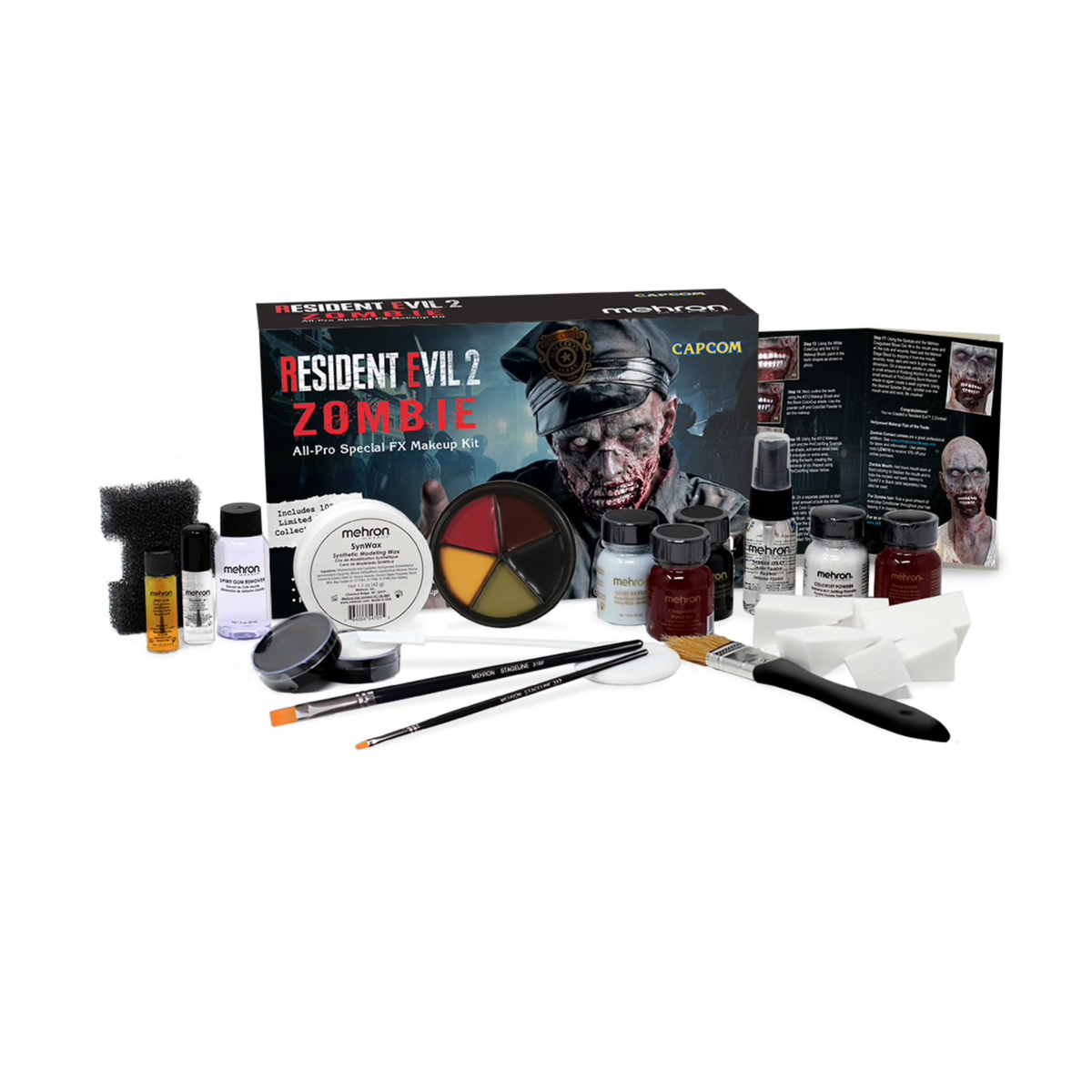 Mehron Resident Evil™  2 Zombie All Pro Special FX Makeup Kit