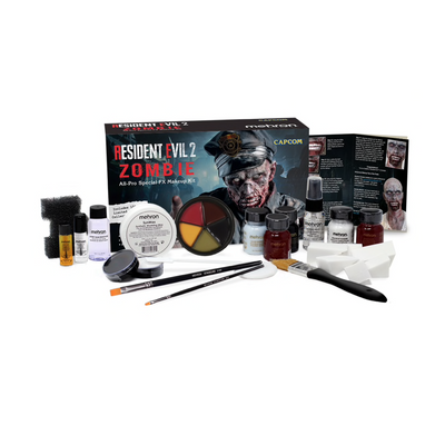 Smiffy's Skeleton Face Paint Kit - Red Carpet FX - Professional Makeup