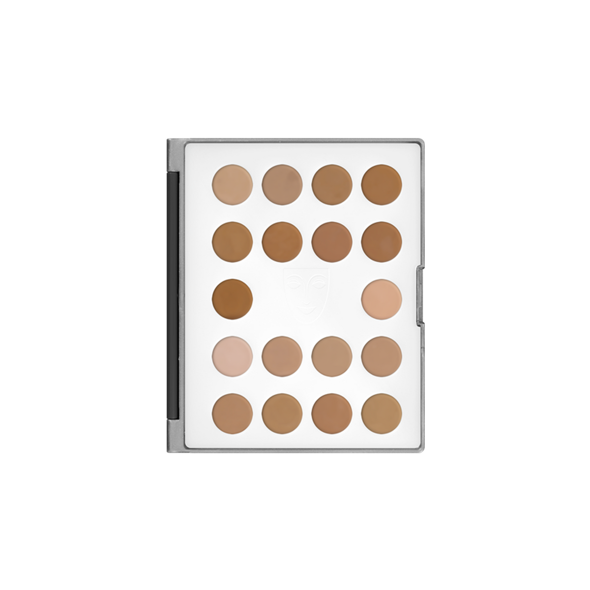 Kryolan HD Cream Micro Foundation Mini Palette - No. 1 - Red Carpet FX