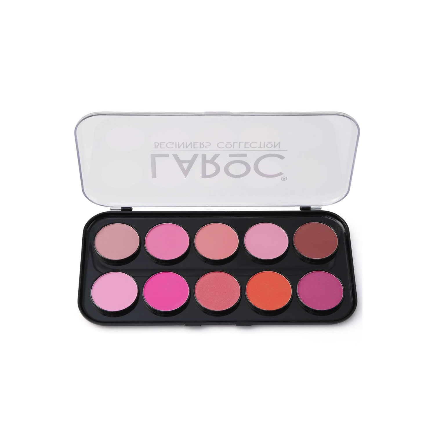 LaRoc 10 Colour Blusher Palette