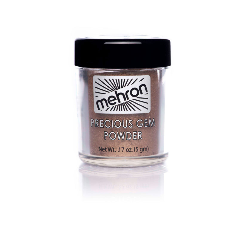 Mehron Precious Gem Powder Pigment - Bronzite - Red Carpet FX - Professional Makeup