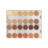 DermaColor 24 Colour Creme Camouflage Palette - DM - Red Carpet