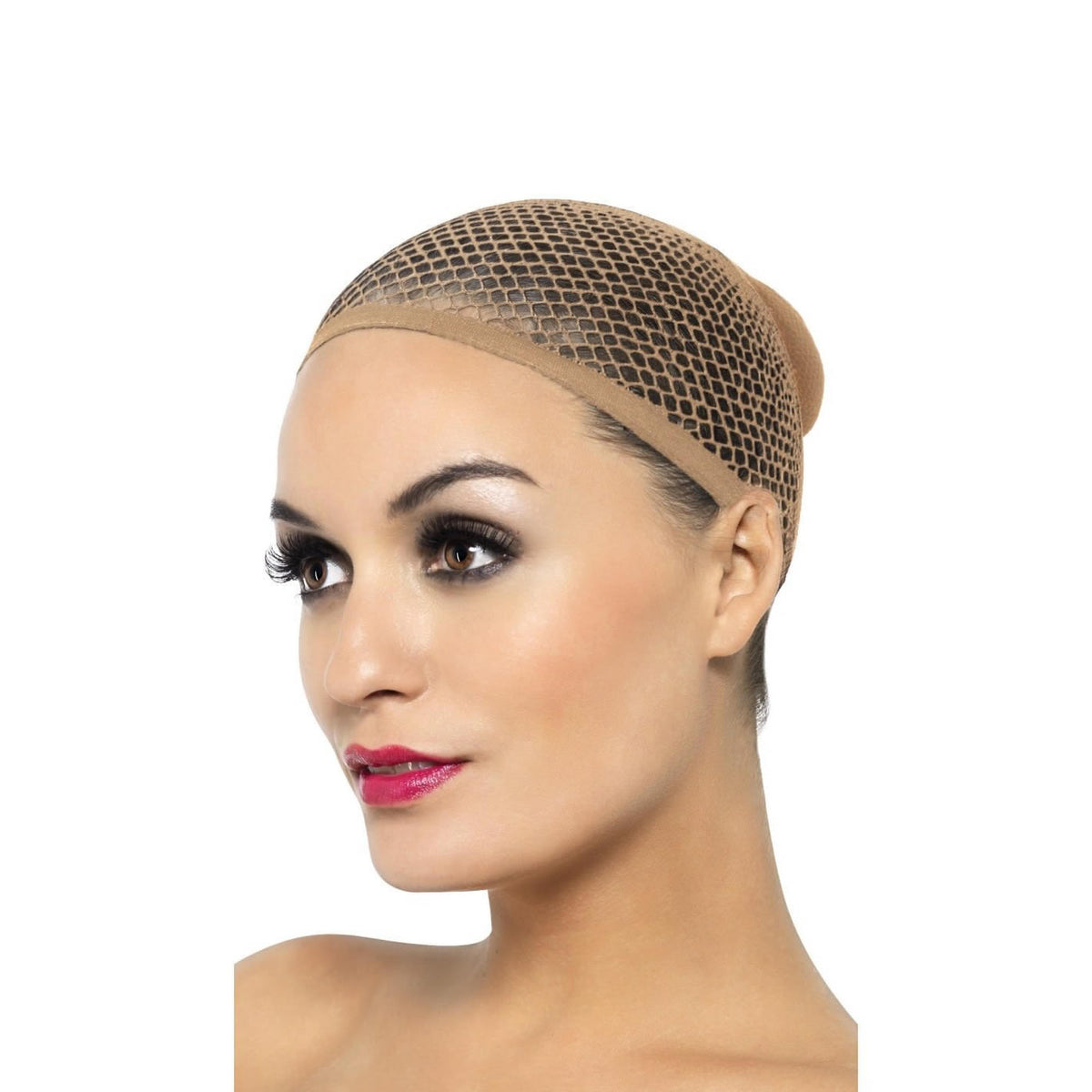 Smiffys Nude Mesh Wig Cap - Red Carpet FX - Professional Makeup