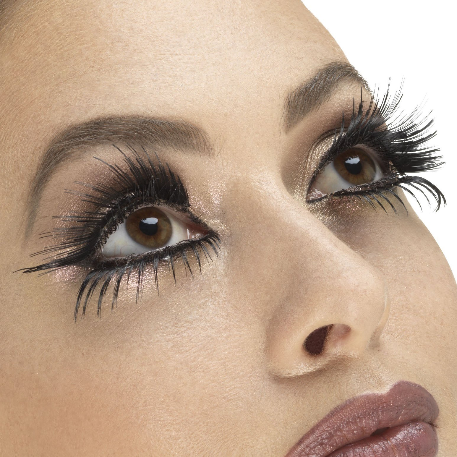 Fever False Top & Bottom Eyelashes - Winged Black
