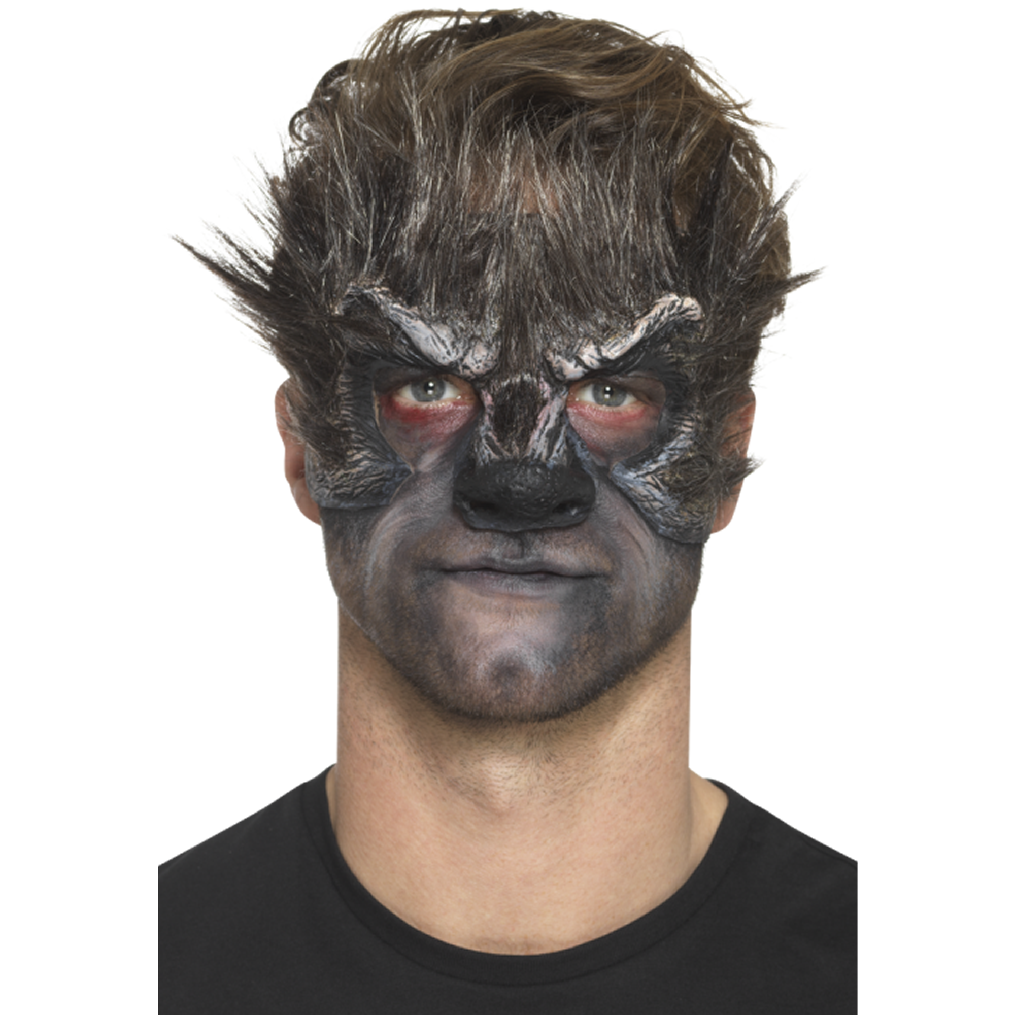 Smiffys Foam Latex Werewolf Head Prosthetic - Red Carpet FX - Professional Makeup