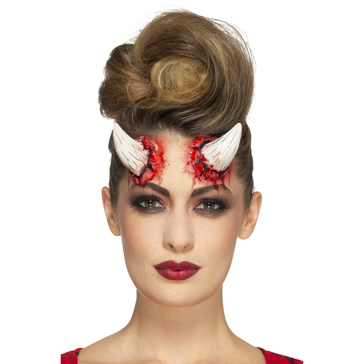 Smiffys Latex Devil Horns Prosthetic - Red Carpet FX - Professional Makeup