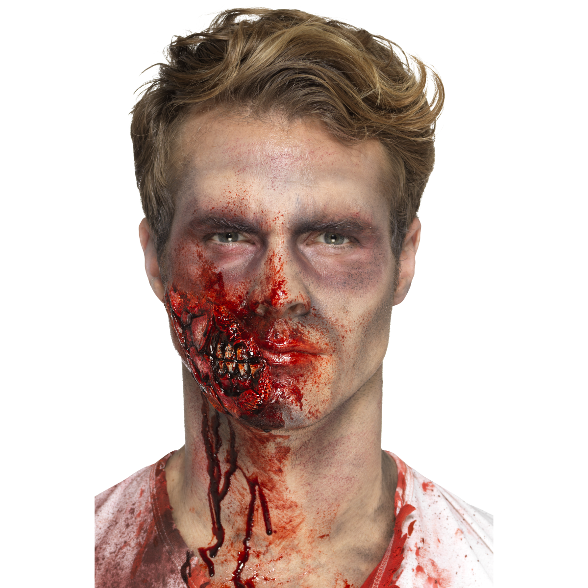 Make-up FX Latex Zombie Jaw Prosthetic