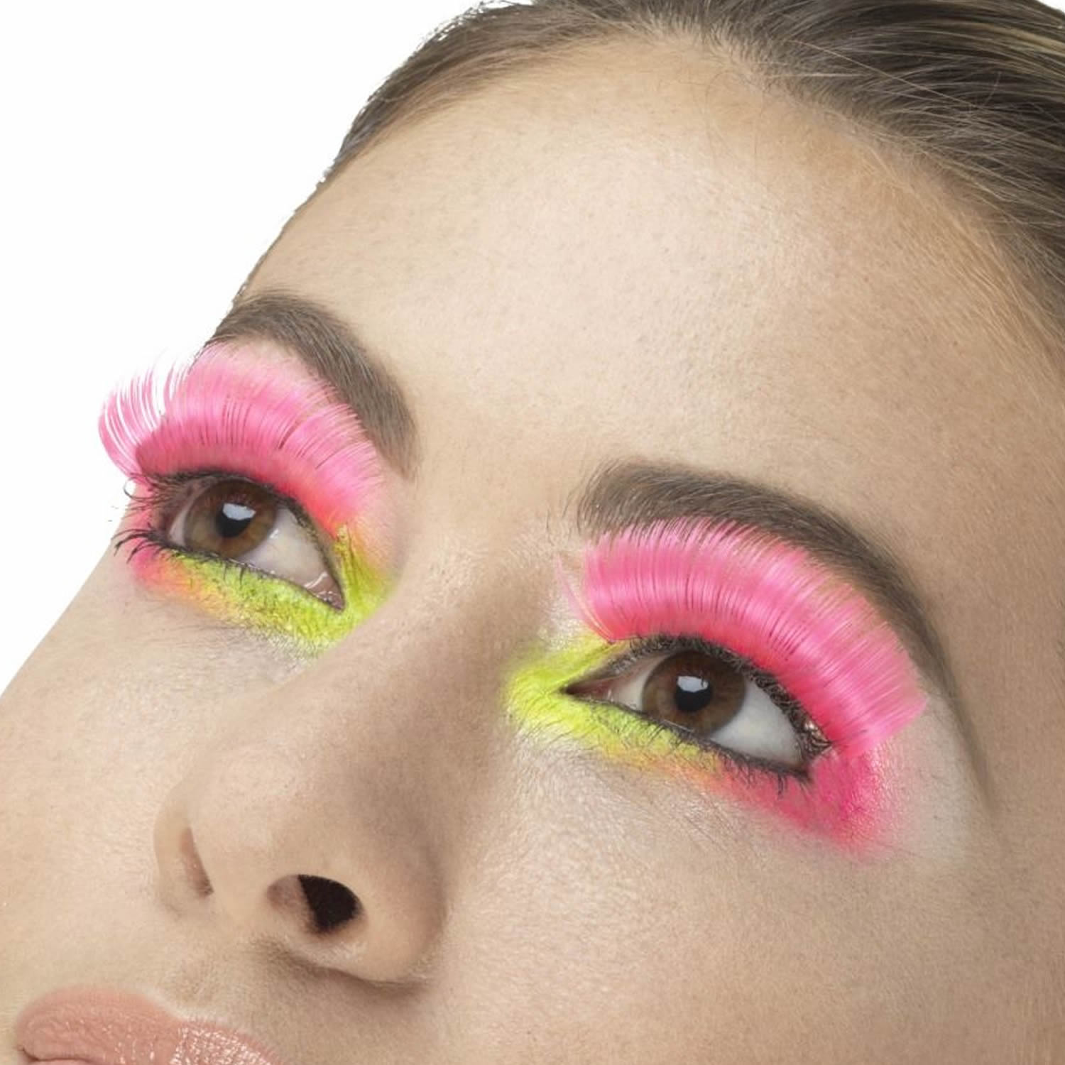 Fever False Eyelashes - 80s Party Neon Pink - Red Carpet FX - Professional Makeup