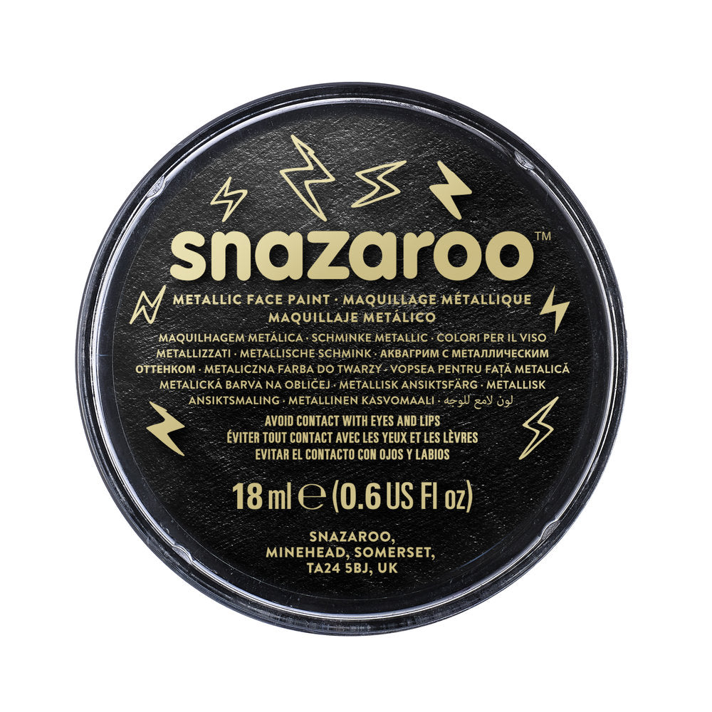 Snazaroo Face & Body Paint - Metallic Colours