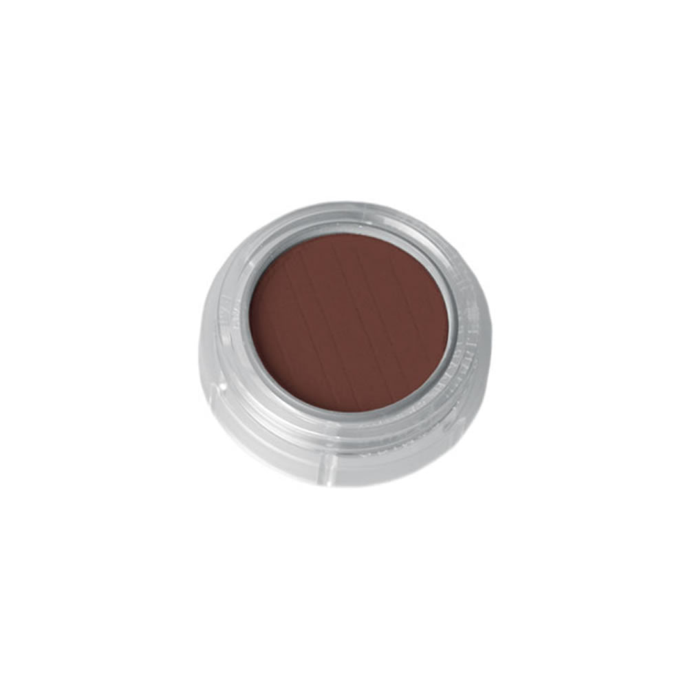 Grimas Pressed Powder Eyeshadow/Rouge - 886 Dark Brown - Red Carpet FX - Professional Makeup