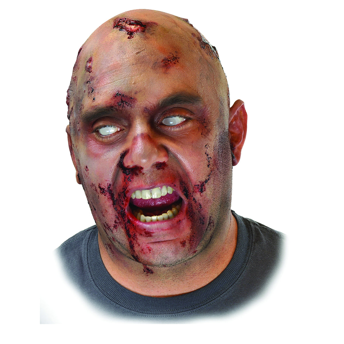 Woochie Latex Prosthetic Zombie Bald Cap