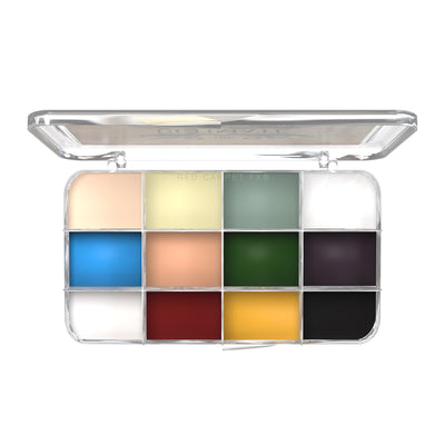 Dashbo The Ultimate 12 Colour Autopsy Palette - Red Carpet FX - Professional Makeup