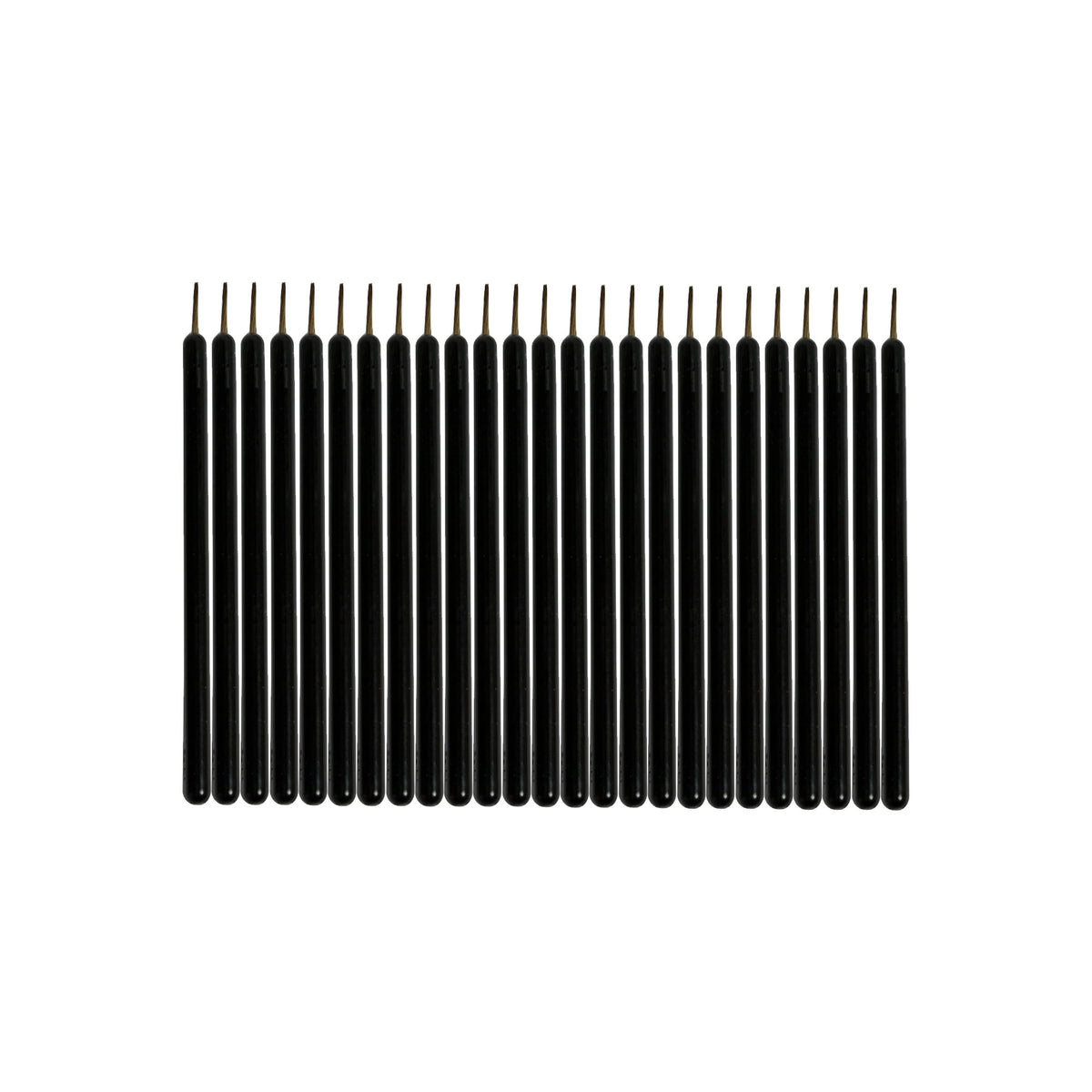 Royal & Langnickel Disposable Eyeliner Brushes (25pc) - Red Carpet FX - Professional Makeup