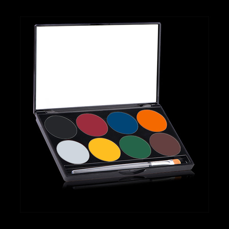 Mehron Paradise Makeup AQ Face Paint Palette - Basic - Red Carpet FX - Professional Makeup