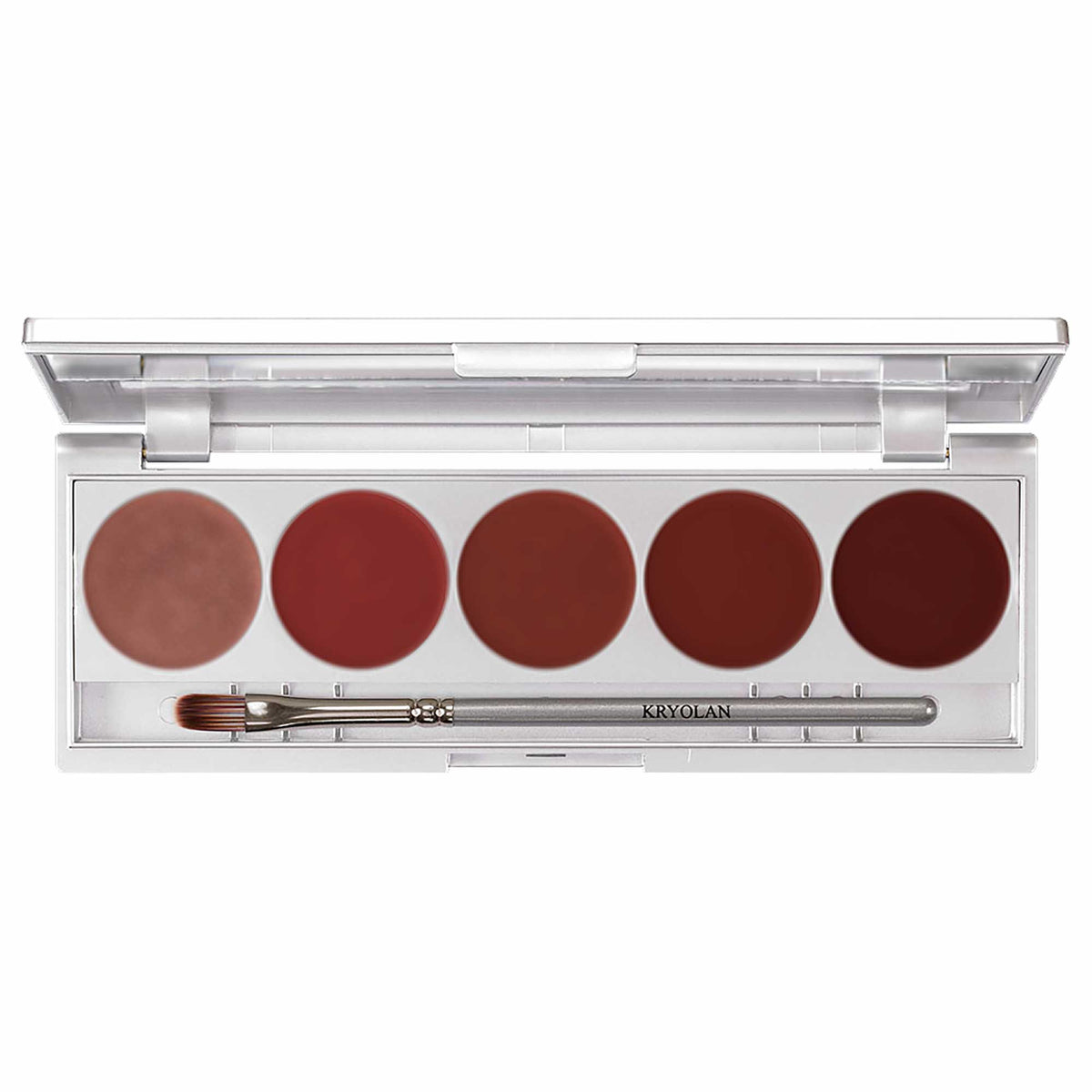 Kryolan Cream Blusher 5 Palette - Beauty