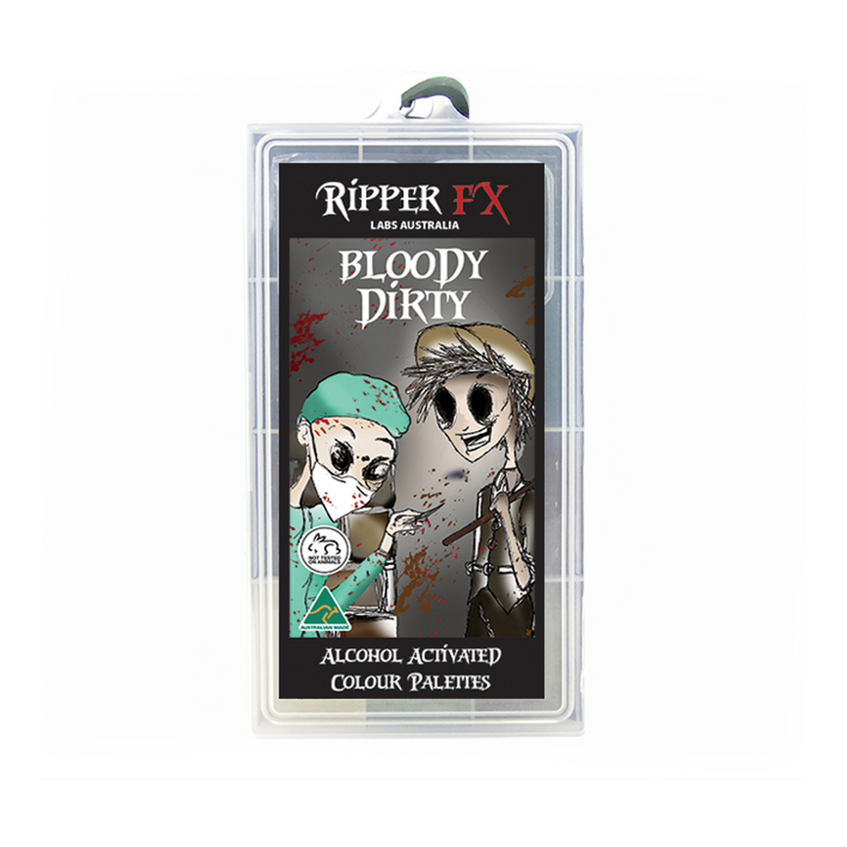 Ripper FX Alcohol Paint Large Palette - Bloody Dirty