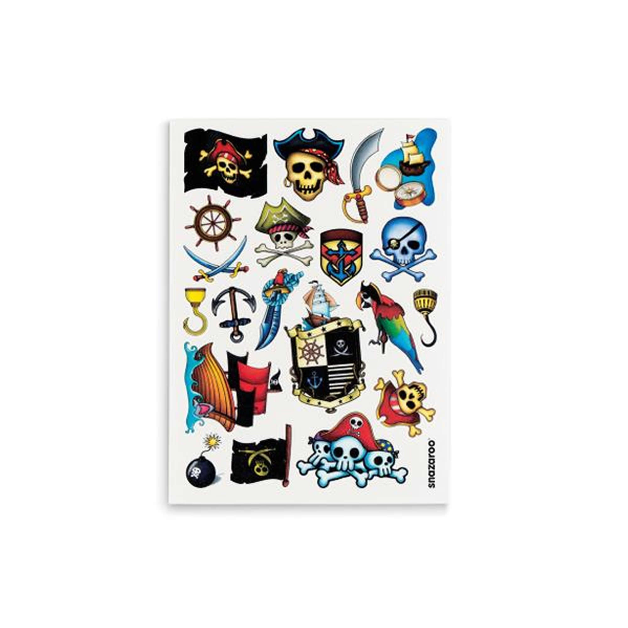 Snazaroo 20 Temporary Tattoos (Boys) - Red Carpet FX - Professional Makeup
