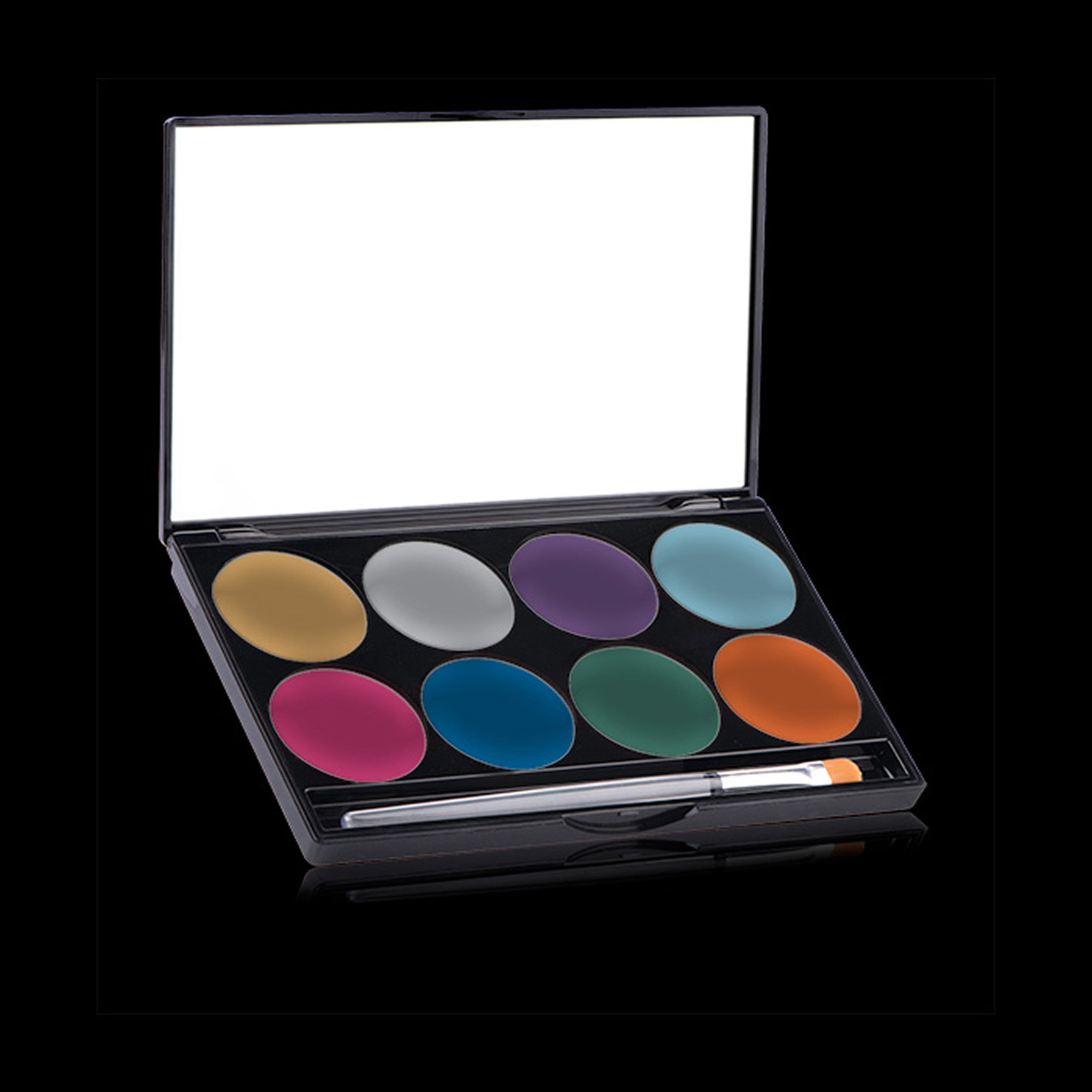 Mehron Paradise Makeup AQ Face Paint Palette - Brilliant - Red Carpet FX - Professional Makeup