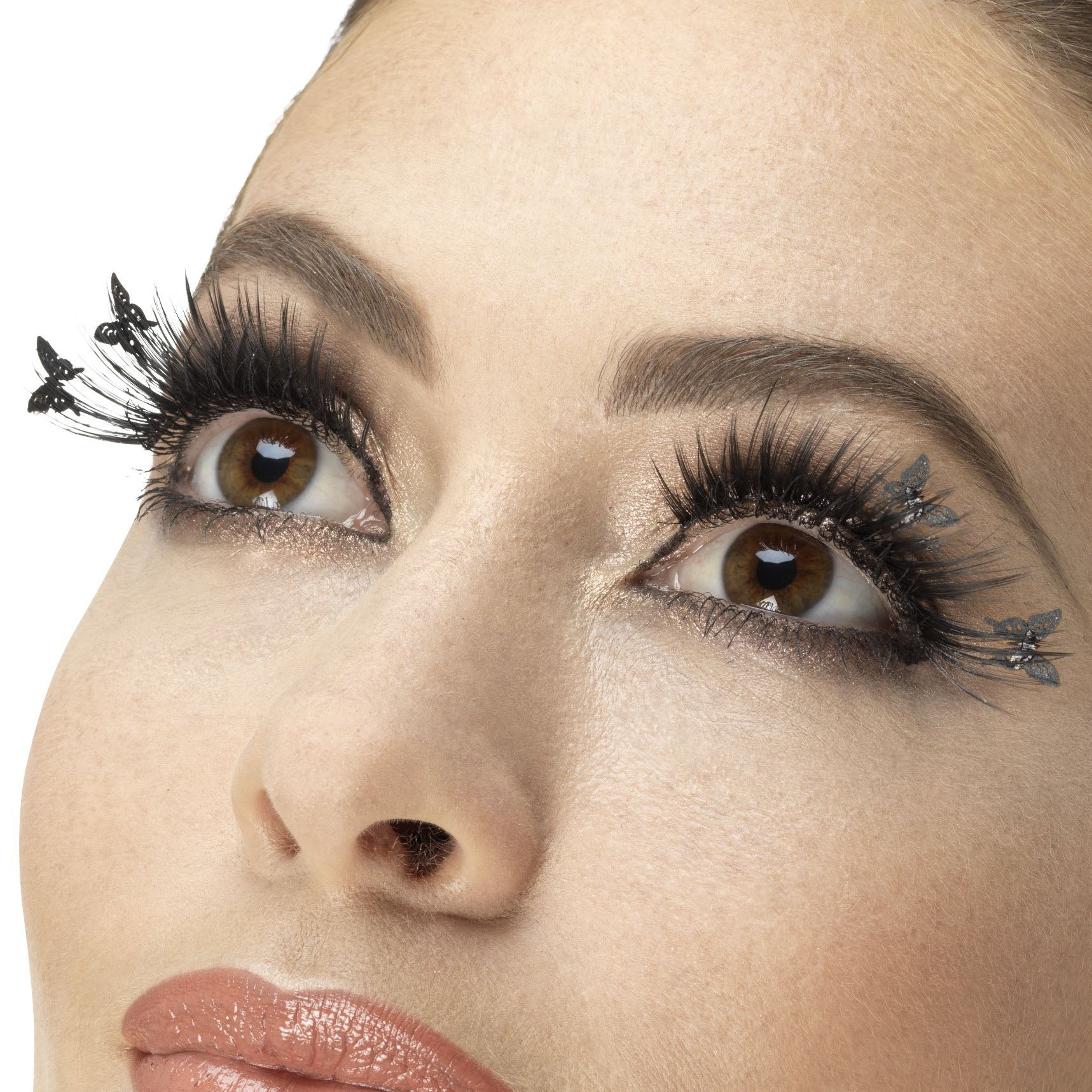 Fever False Eyelashes - Black Butterfly Winged - Red Carpet FX - Professional Makeup