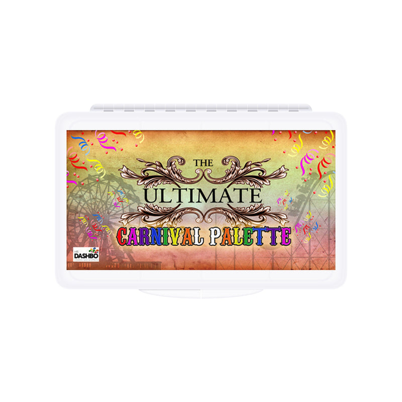Dashbo The Ultimate 12 Colour Carnival Palette - Red Carpet FX - Professional Makeup