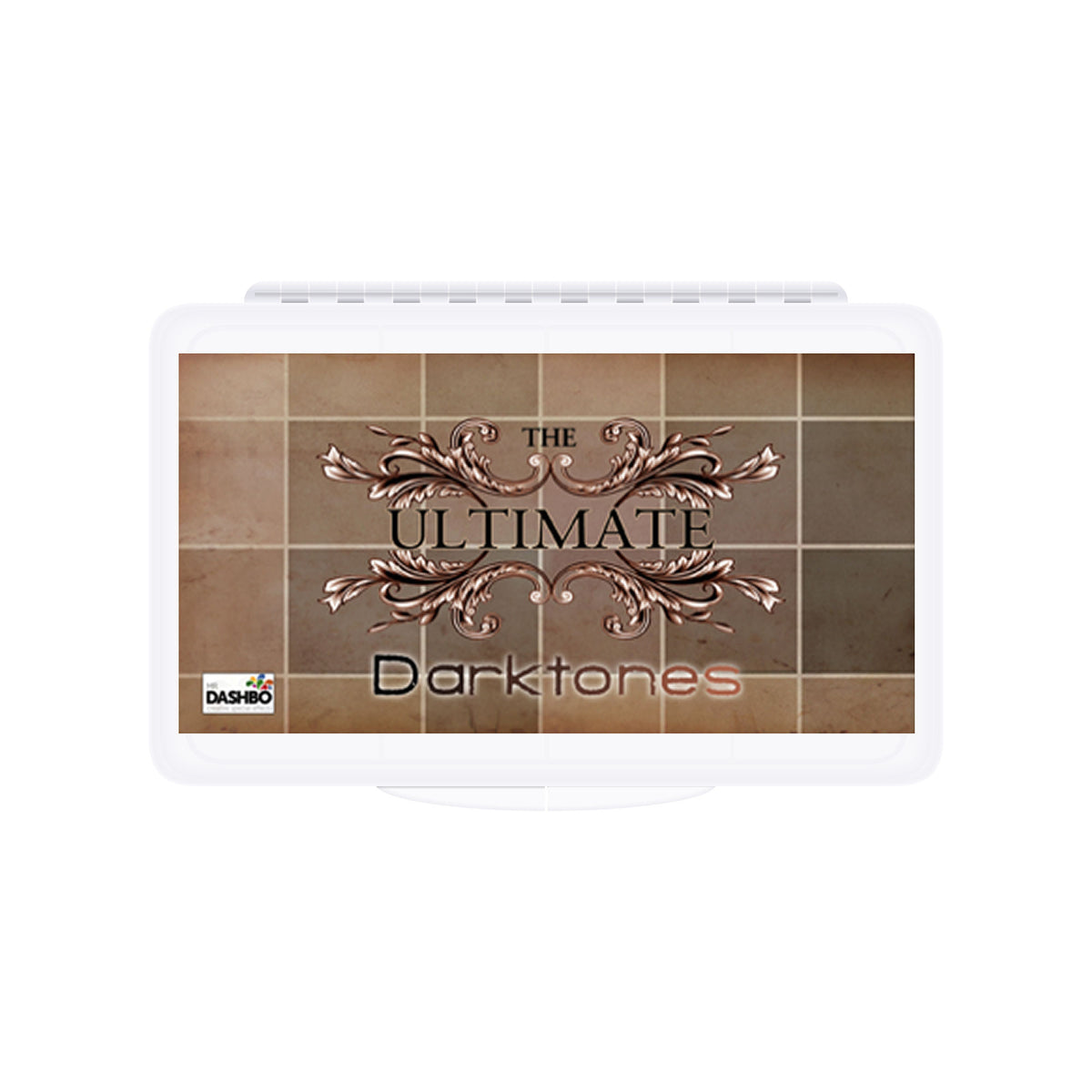 Dashbo The Ultimate 12 Colour Darktones Palette - Red Carpet FX - Professional Makeup