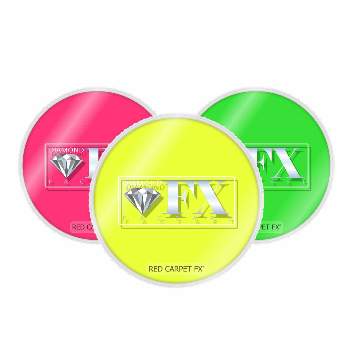 Diamond FX Cake Face & Body Paint - Neon UV