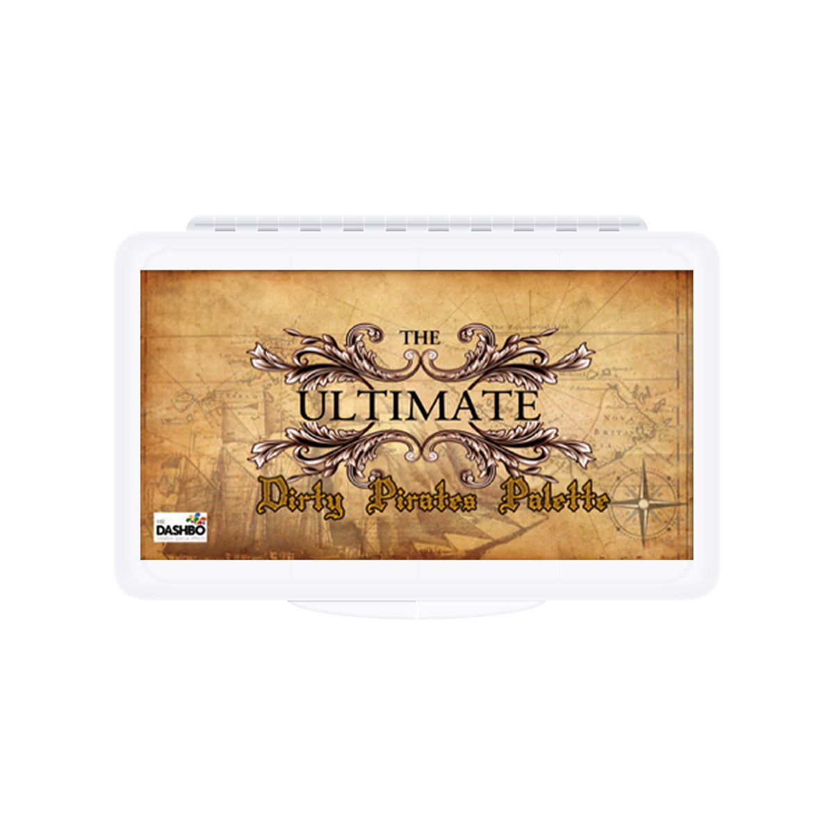 Dashbo The Ultimate 12 Colour Dirty Pirates Palette - Red Carpet FX - Professional Makeup