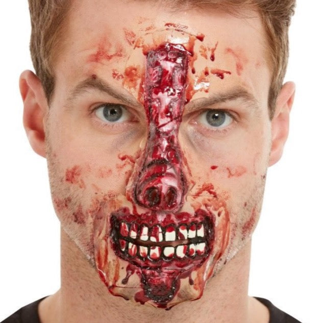 Make-up FX Latex Exposed Nose & Mouth Prosthetic