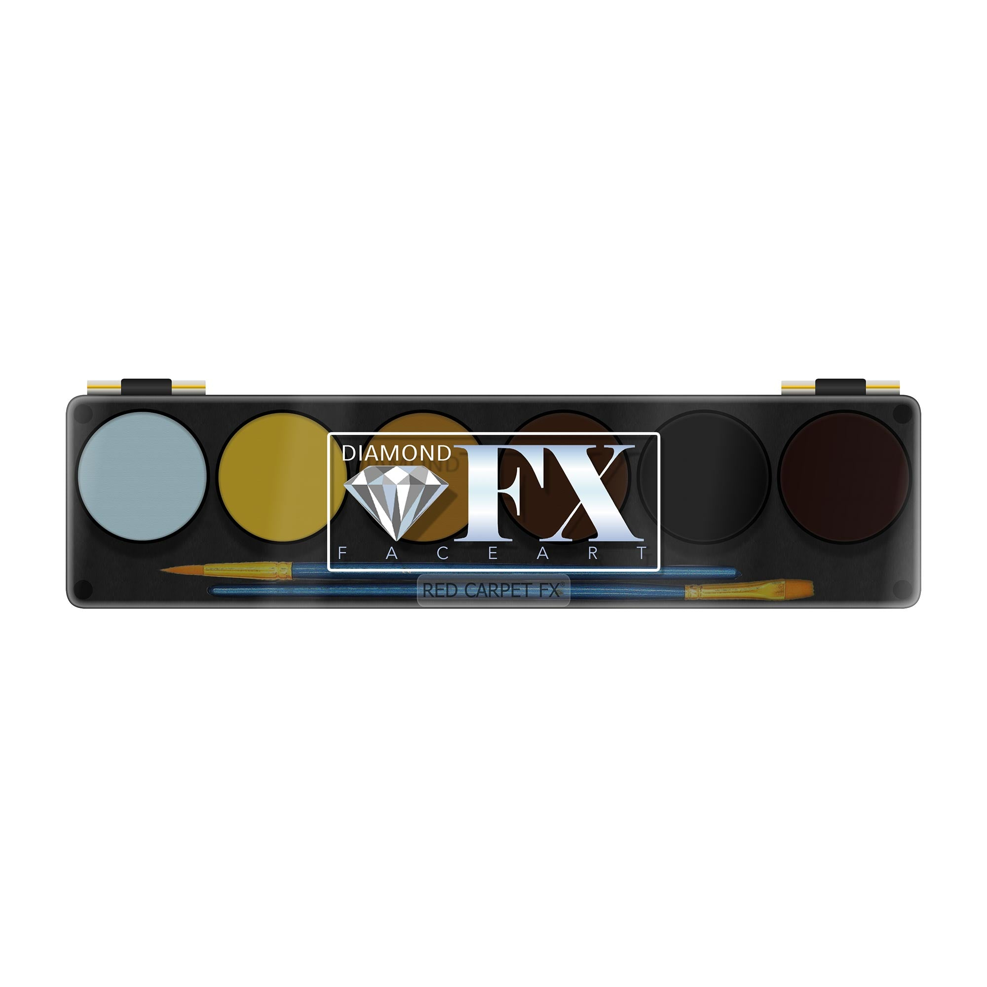 Diamond FX Face & Body Paint Beast 6 Colour Palette - Red Carpet FX - Professional Makeup