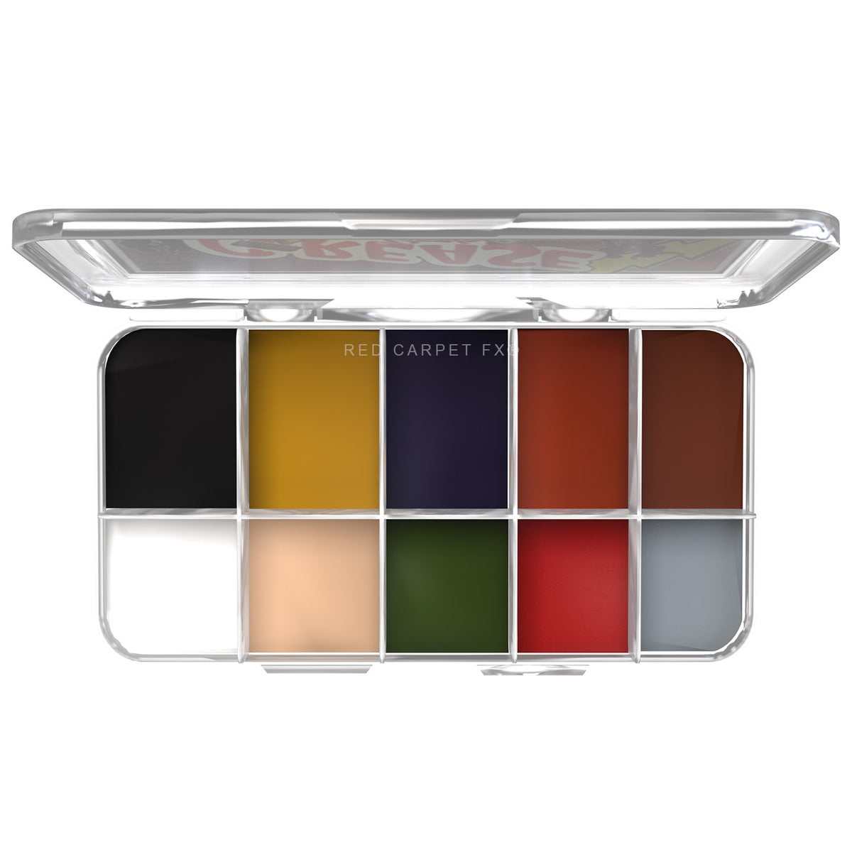 Dashbo The Ultimate Studio Grease Paint Palette - Grease Lightning - Red Carpet FX - Professional Makeup