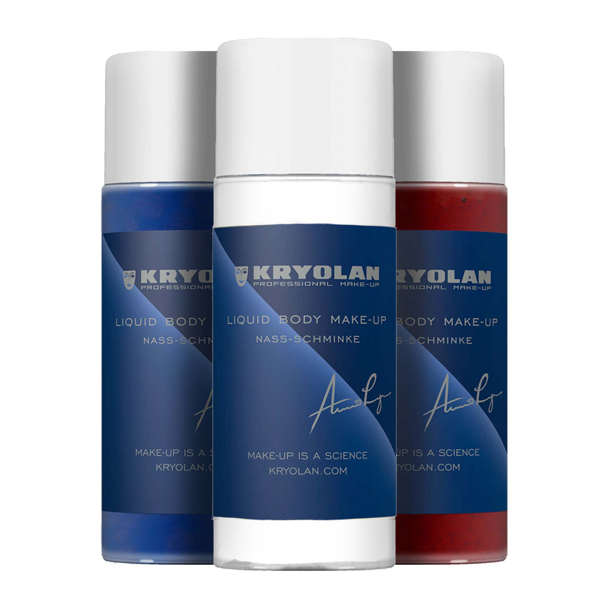 Kryolan Liquid Body Make-Up - Face & Body Paint