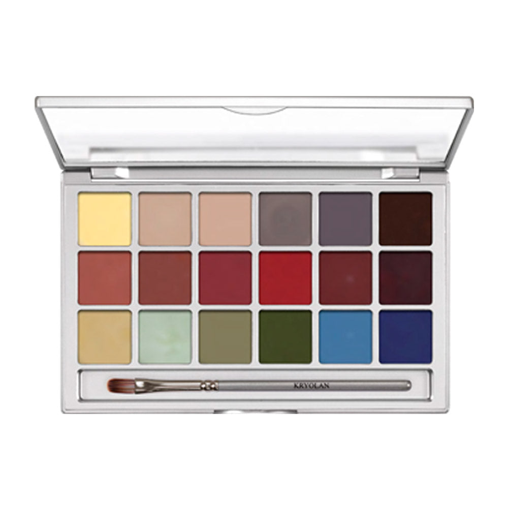 Kryolan Colouring Vision 18 Colour Palette - Effects