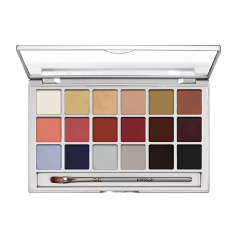 Kryolan Colouring Vision 18 Colour Palette - Stage