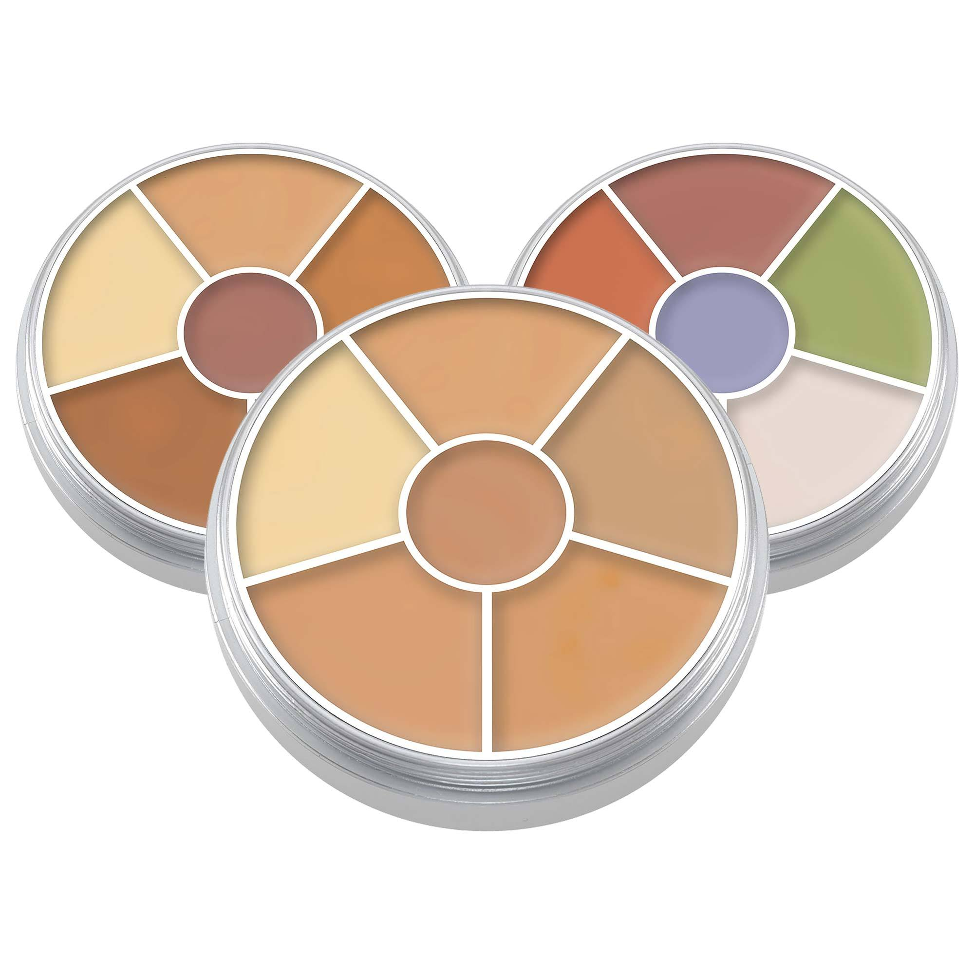 Kryolan 6 Colour Concealer Circle - Red Carpet FX - Professional Makeup
