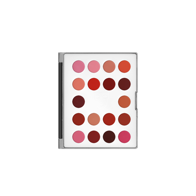 Kryolan Lip Rouge 18 Colour Mini Palette - LC