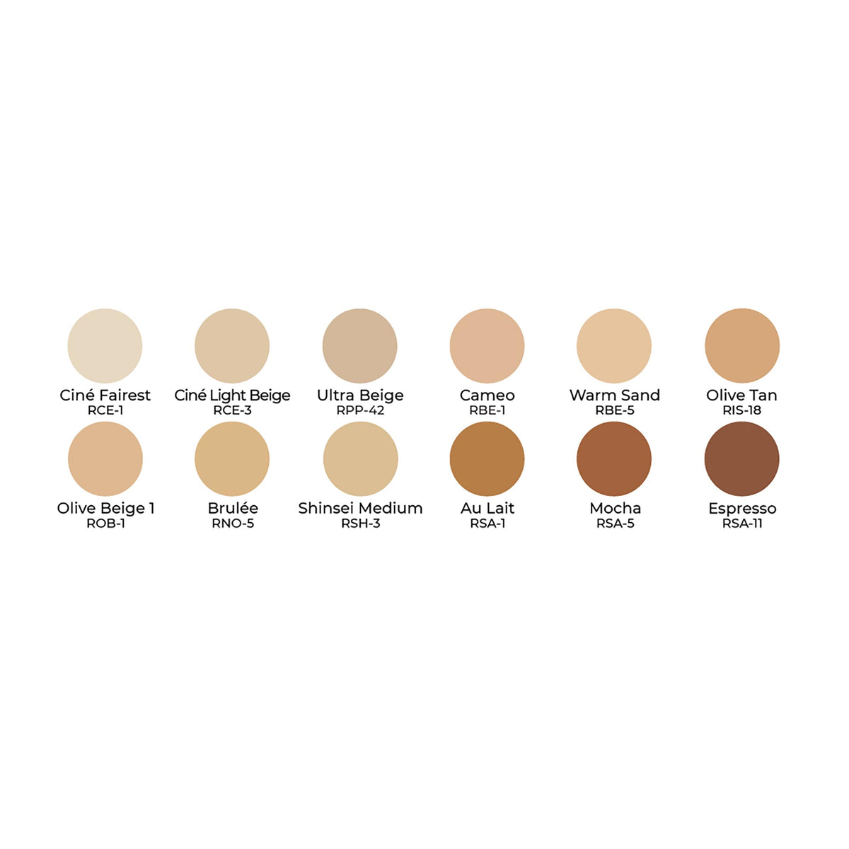 Ben Nye Essential MatteHD Foundation 12 Palette