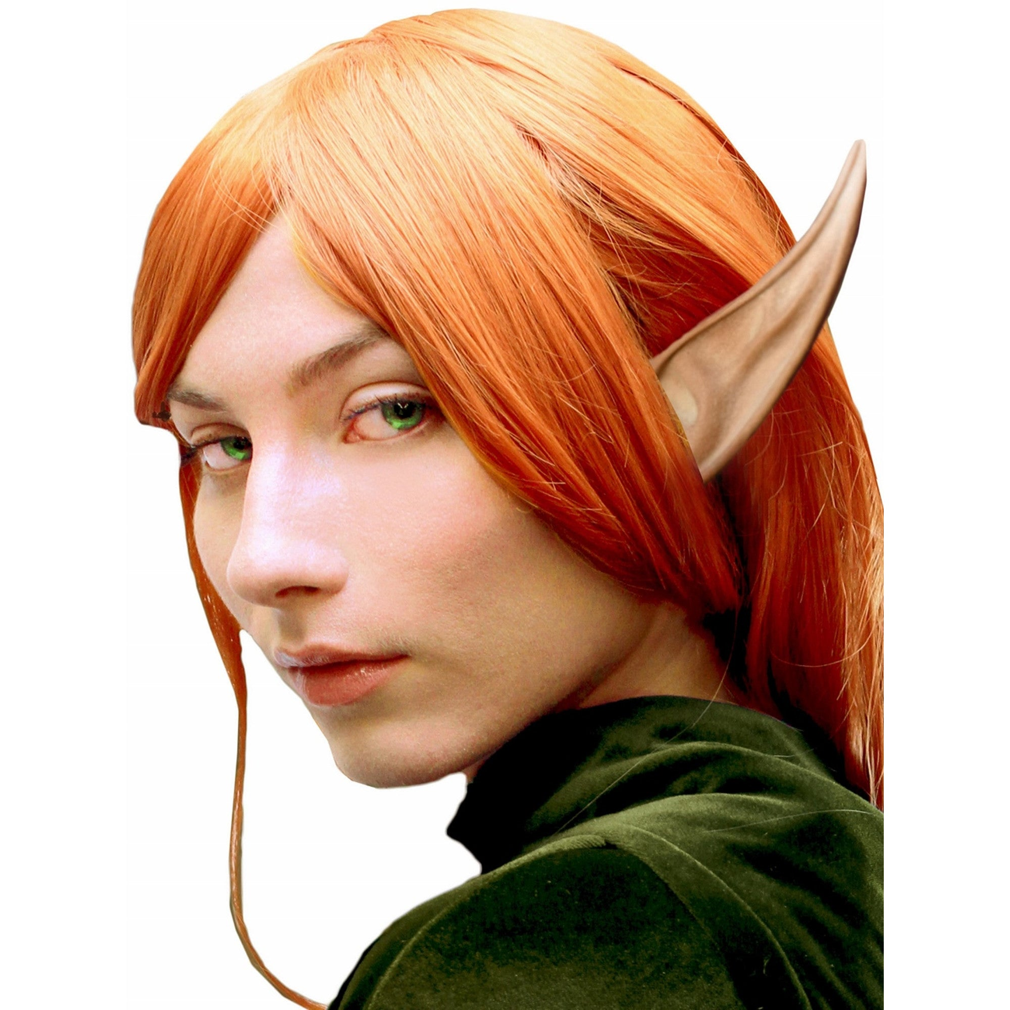 Woochie Latex Prosthetic Large Elf Ears - Red Carpet FX - Professional Makeup