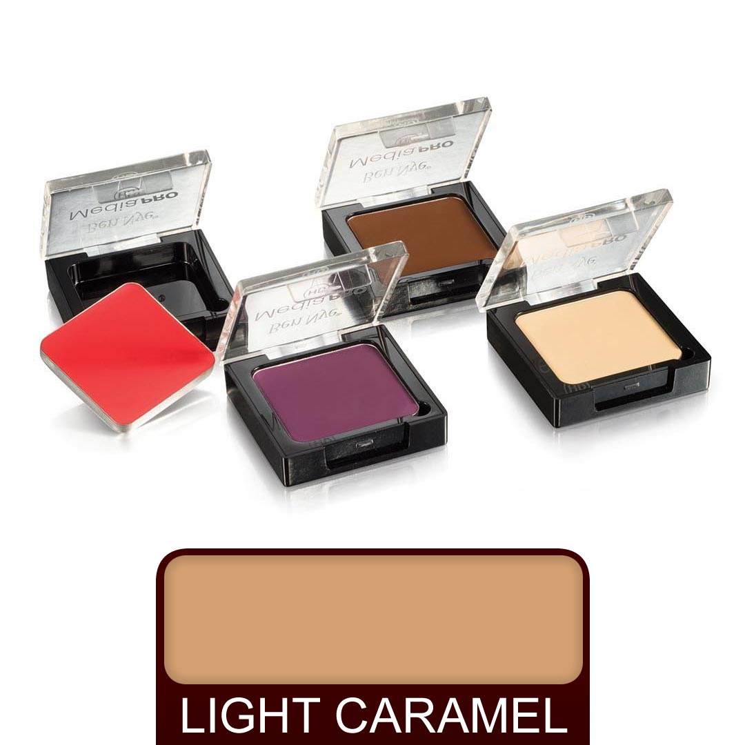 Ben Nye MediaPro Creme Contour Highlight - 15 Light Caramel - Red Carpet FX - Professional Makeup