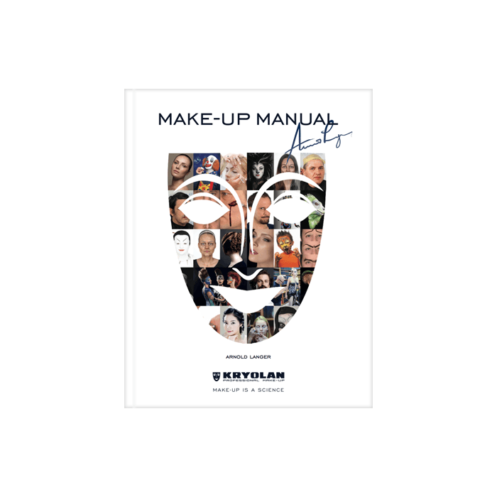Kryolan Make-Up Manual (Current) - Red Carpet FX - Professional Makeup