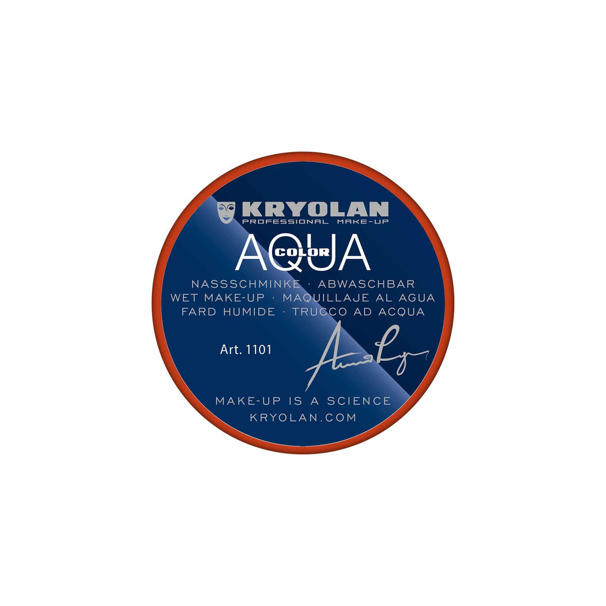 Kryolan AQUACOLOR - Water Based Face & Body Paint