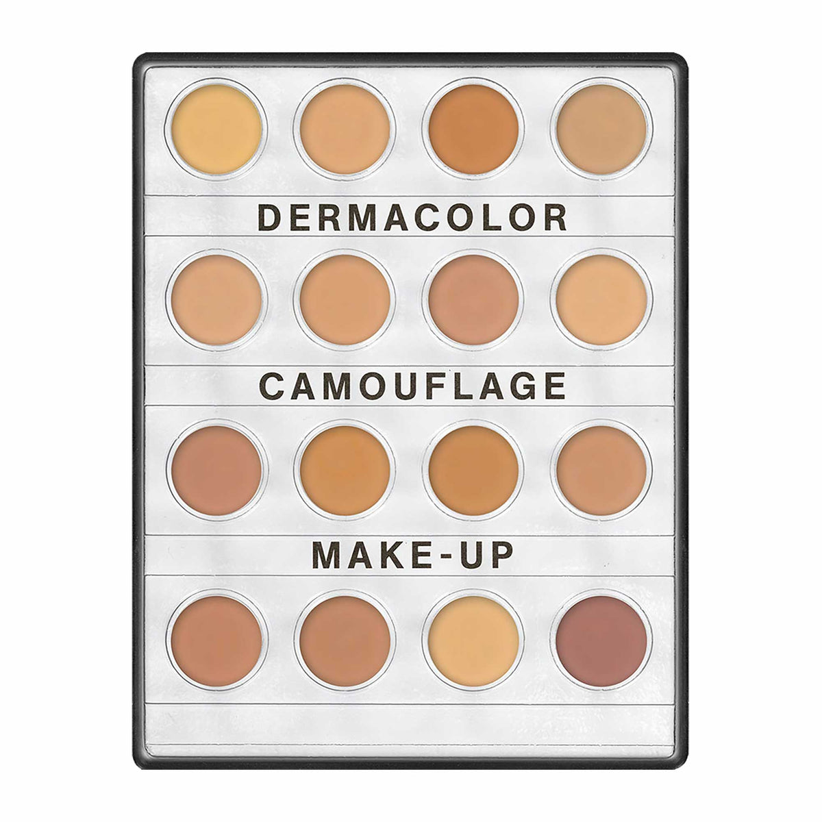 Dermacolor Camouflage Creme Mini 16 Palette - Medium