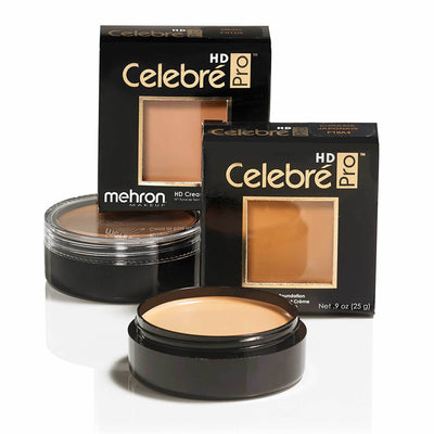 Mehron Celebré Pro HD Cream Foundation - Red Carpet FX - Professional Makeup