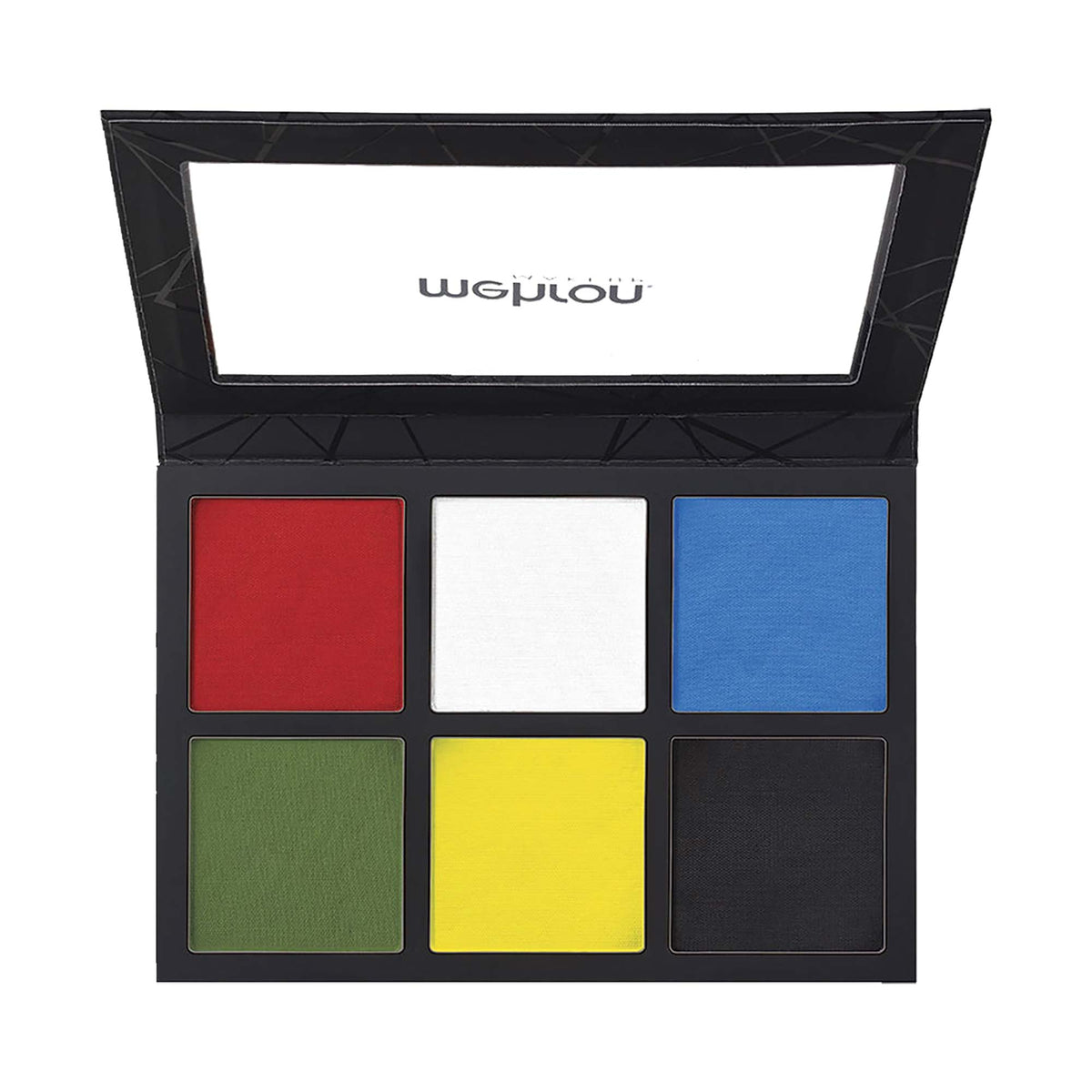 Mehron EDGE Professional Face & Body Paint - 6 Colour Palette