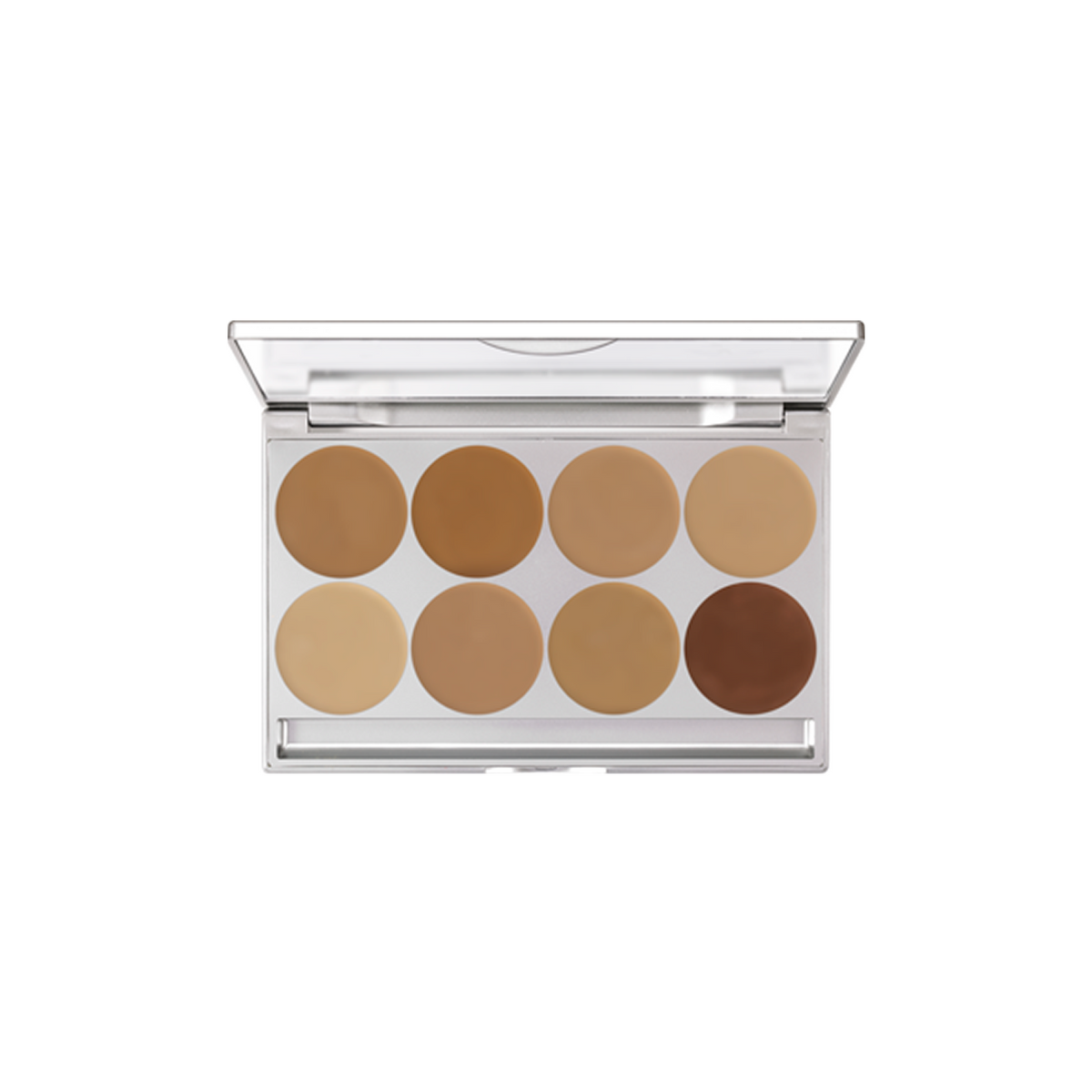Kryolan HD Micro Foundation Creme 8 Colour Palette (MFC1) - Red Carpet FX - Professional Makeup