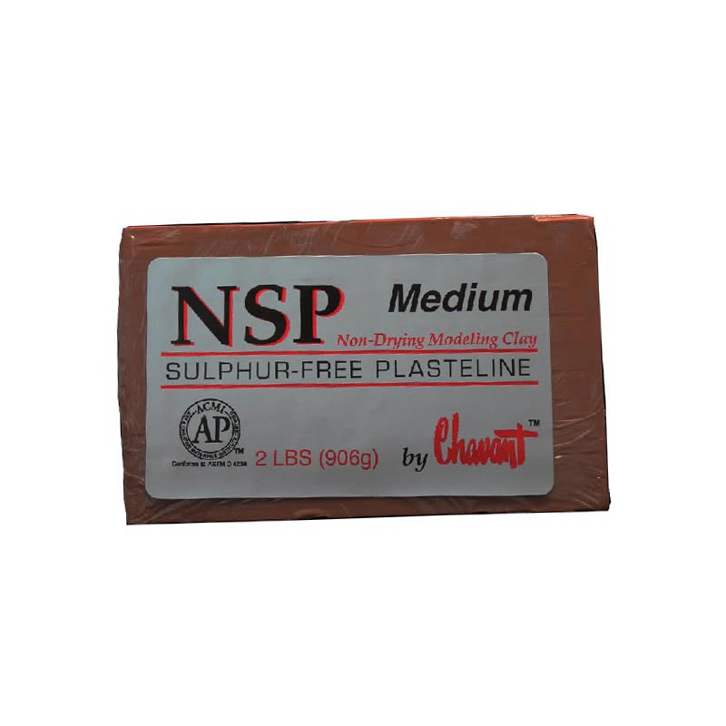 NSP Chavant Clay Red/Brown