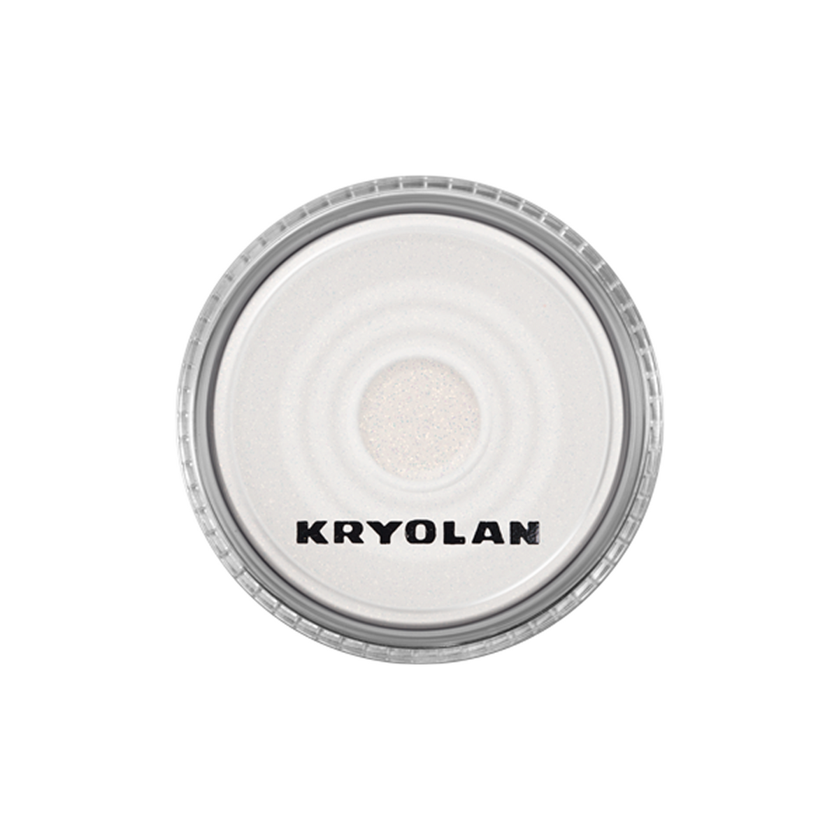 Kryolan Polyester Glimmer Medium Glitter - Pearl White - Red Carpet FX - Professional Makeup