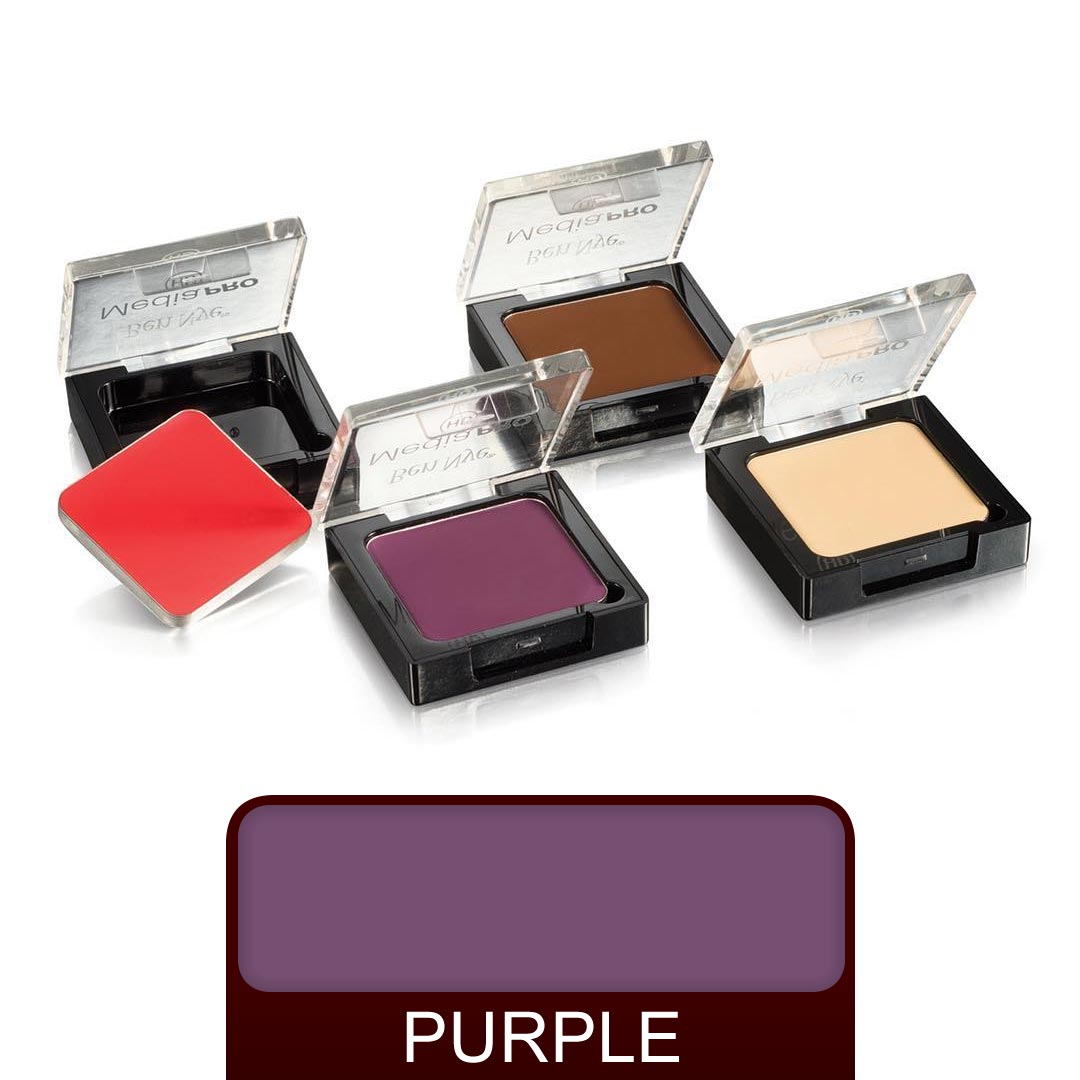 Ben Nye Media Pro Creme Ultra Contour - Purple - Red Carpet FX - Professional Makeup